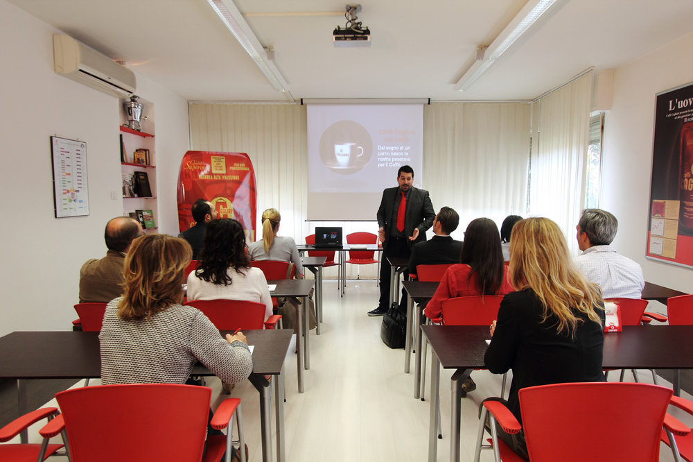 Caffe Cagliari training school