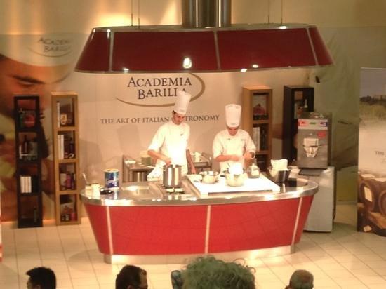 Barilla Academia chefs. tastetrailsrome.com