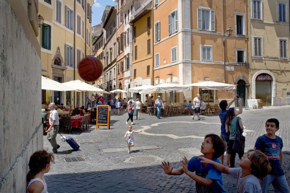 The Jewish ghetto Rome - An oasis of calm in the ancient city