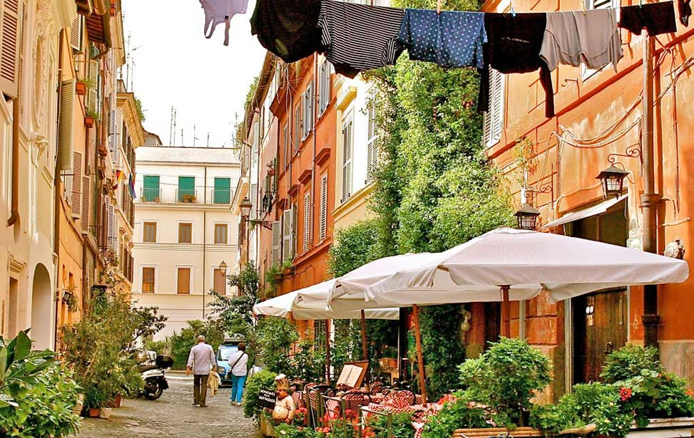 Trastevere Rome - It is still possible to slip away from the crowds