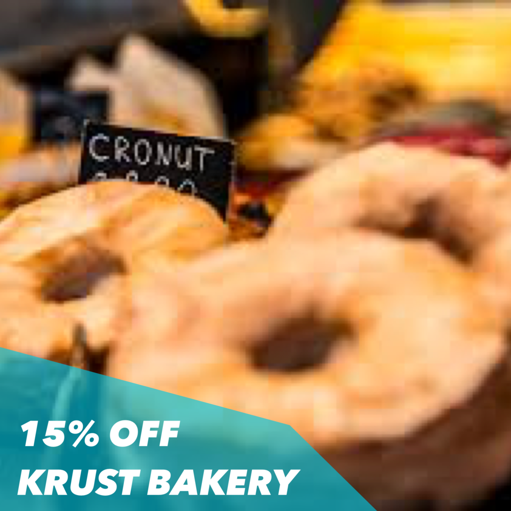 CRONUTS - GET 15% OFF WITH THE CODE CRONUTS