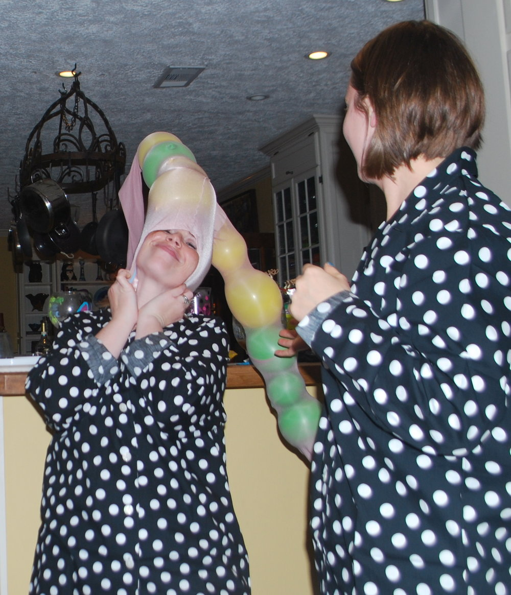 Crazy PJ Party