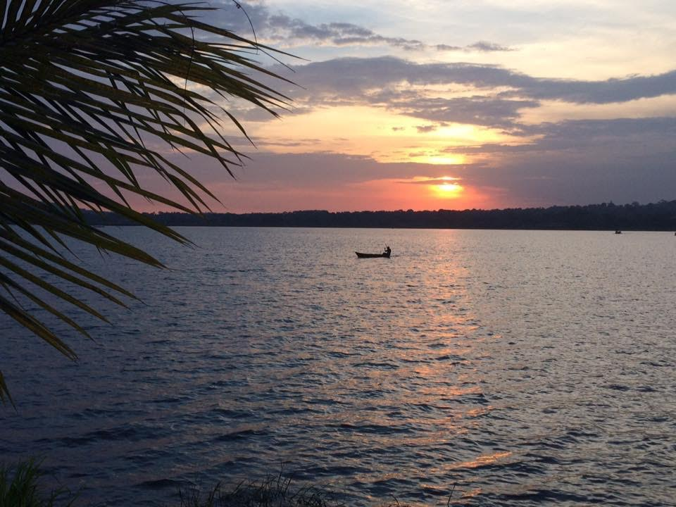 Sunset on Lake Victoria