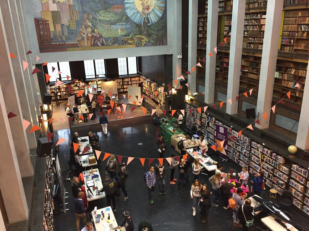 Oslo skaperfestiva - September 29th5.00pm@Deichman, the main library