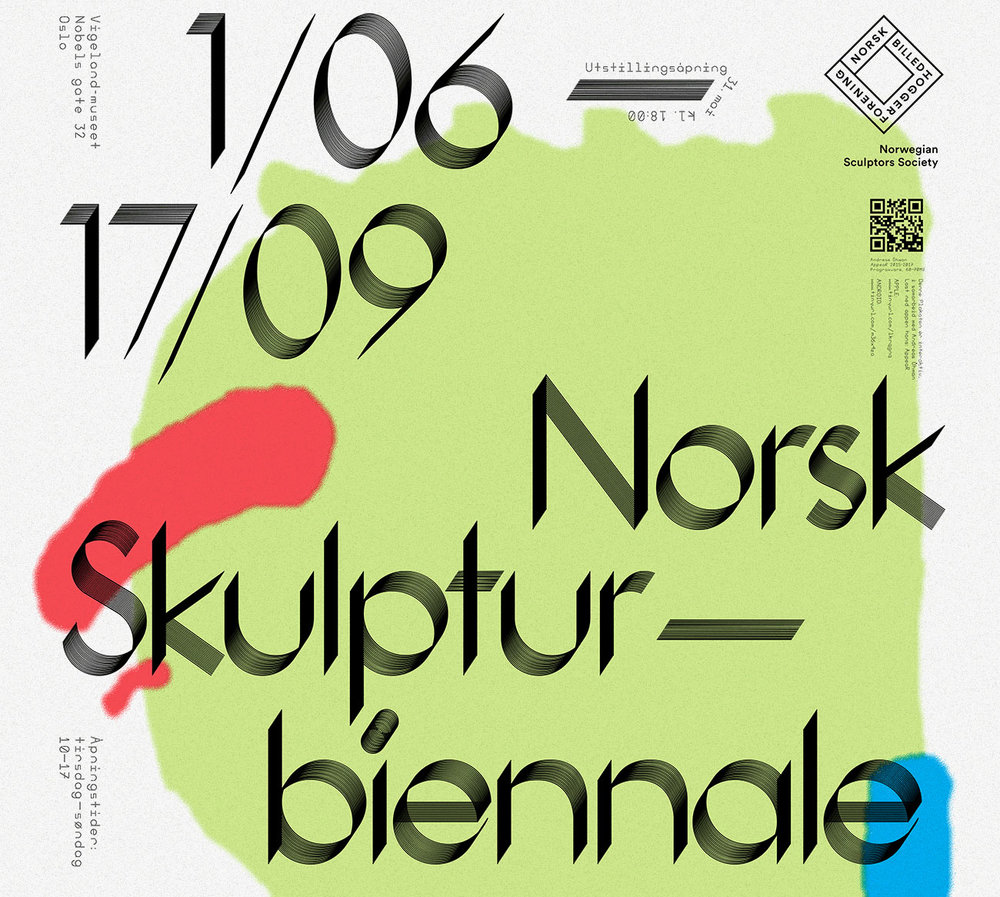 Norwegian Sculpture Biennal - 6.00 pm and 11.00 pm@The Vigeland MuseumThe curator of this year's biennial is Steffen Håndlykken. Based on approximately 440 submitted applications, Håndlykken has selected 32 projects to be displayed in the Vigeland Museum, as well as in the public space.