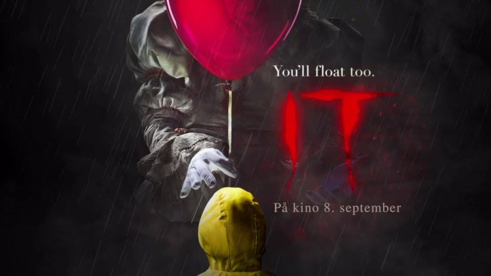 Preview of IT (2017) - horror bonanza at Ringen kino - September 6th8.30pm@Ringen Kino