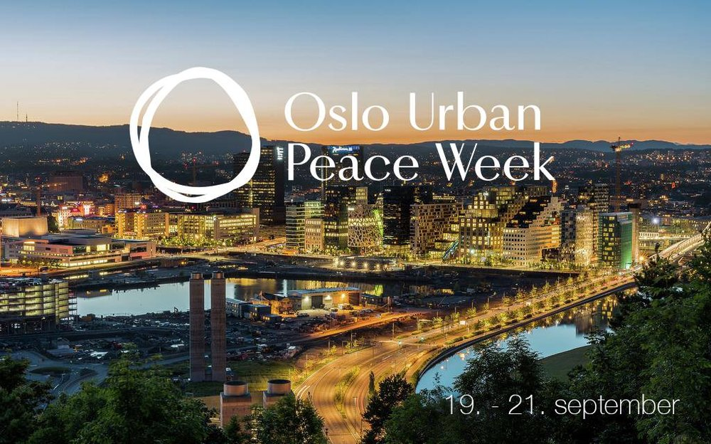 Oslo Urban Peace Week - September19th - Septmeber21st@PRIO, @Oslo rådhus, @Skur 13 and @SALT