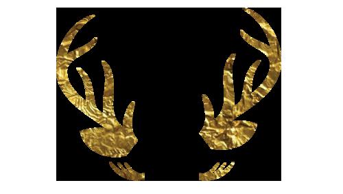Doe Eyes Golden Antlers