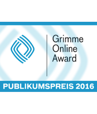 Grimme Online Award 2016    Audience Award  Project:  Brainfed  Category: WISSEN und BILDUNG Client: bpb Year: 2016