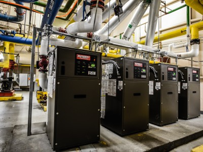 Central Boilers with Hydronic Distribution