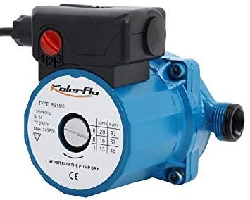 Premium efficiency recirculation pump