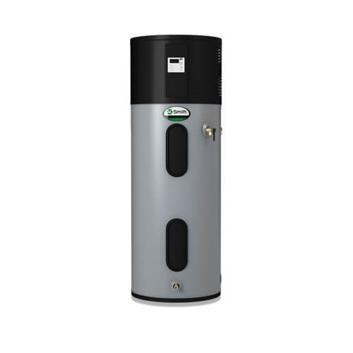 Packaged heat pump water heater