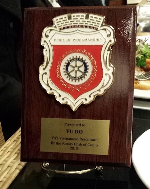 2013 Pride of workmanship award