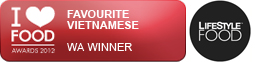 State Winner for Favourite Vietnamese 2012