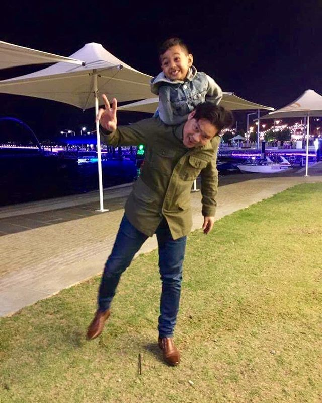 Happy birthday to my sunshine!!☀️☀️☀️👪So blessed to have this wonderful son, love him to the moon and back. Slow down and stop growing.  May you grow up to be a loving, kind, happy and an awesome great man. #birthdayboy #happyboy #love #happyperth #vusrestaurant