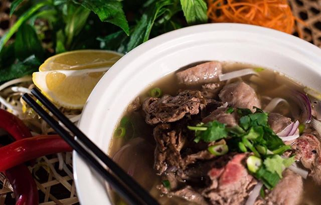 Pho Soup by Vu for fiends and family. #vusrestaurant #phosoup #beefnoodlesoup #foodporn #vietnamesefood #foodiegrams #perth #perthfoodies