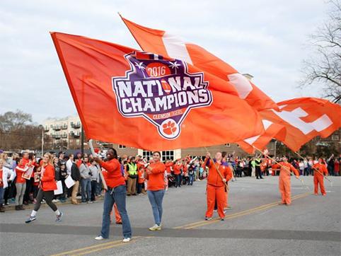 Clemson Tigers 2016 National Champtionship Parade
