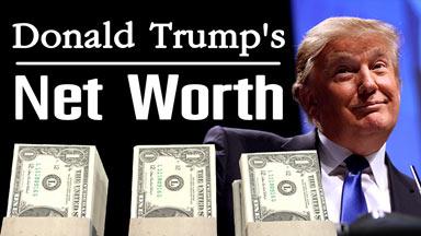 Donald Trump's net worth