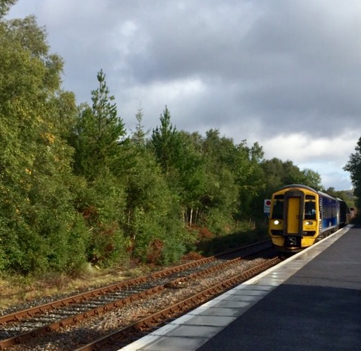 Lairg Station on the Far North Line (Inverness to Wick/Thurso)