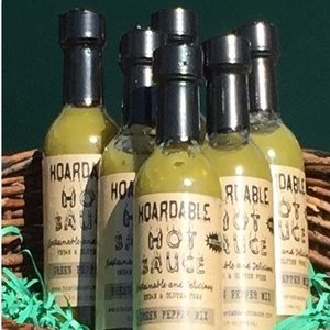 Green Hoardable Hotsauce