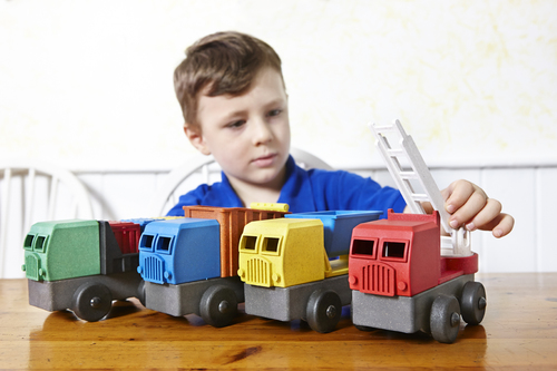 Luke's Toy Factory Trucks