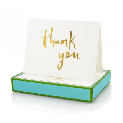 Stationery and Thank You Notes