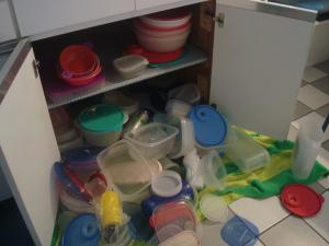 Messy Tupperware