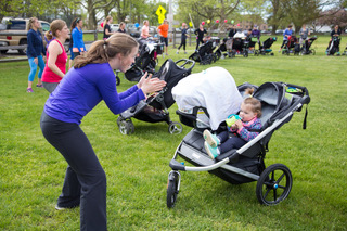 Fit4mom class with stroller