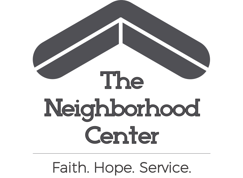 The Neighborhood Center (Full Logo Grey)