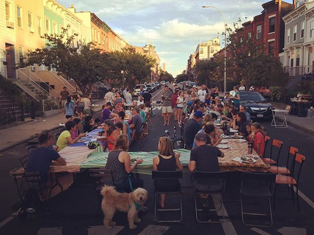 Our first #blockparty #brooklyn #southslope #newhoodlove