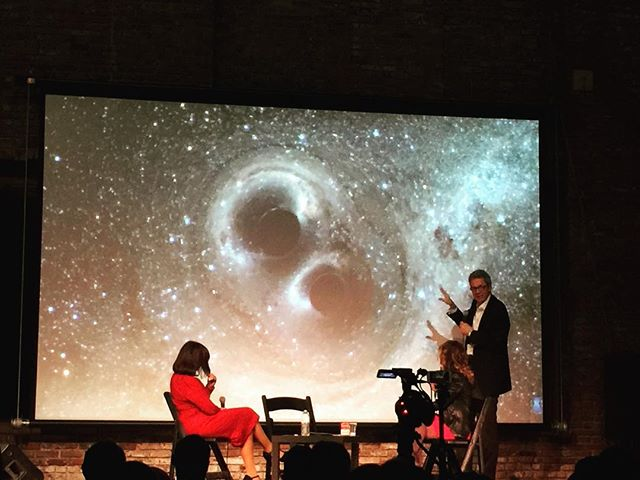 Last nite's Scientific Controversies: Dark Matter @pioneerworks hosted by the stellar @jannalevin #somanygalaxies #somanyquestions #glueoftheuniverse