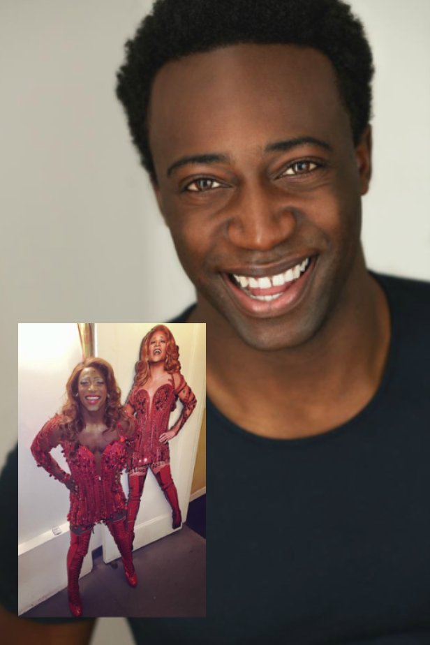 NICK RASHAD BURROUGHS - Kinky Boots on Broadway