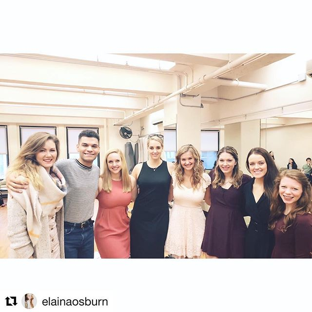 Complete the phrase: Friends who audition together ____ together!  #Repost from one of our 2018 residents @elainaosburn ・・・ Have had an amazing first week with the residency program! Went to my first broadway audition, didn't get seen, then went to my second broadway audition where I did!...