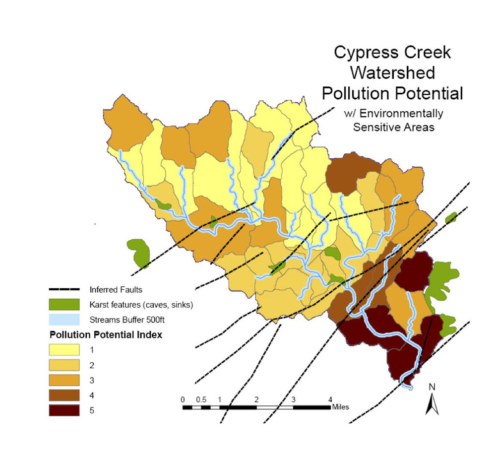 Pollution Index Map