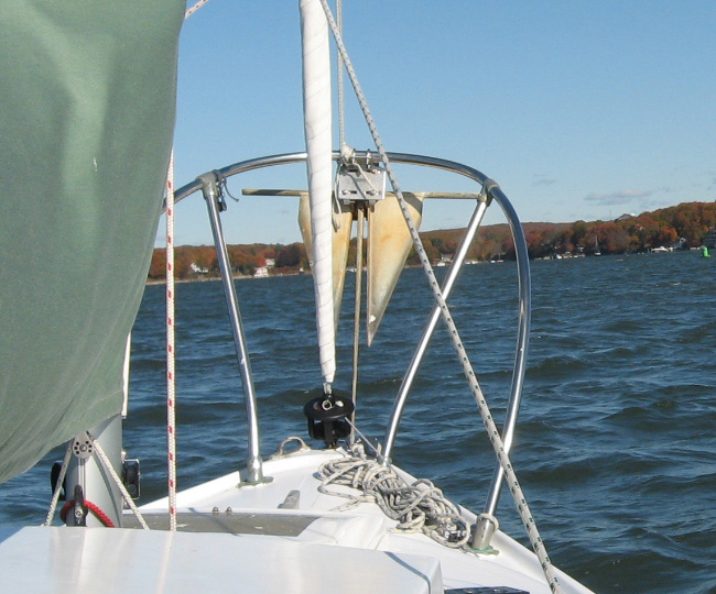 A Problem Area For Any Boat Is Adequate Anchor   And Anchor Rode   Storage.  This Can Be A Particular Problem For Small Boats Because Space Is So  Limited.