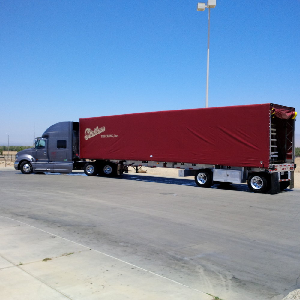 Roll Top transporting cargo across the nation