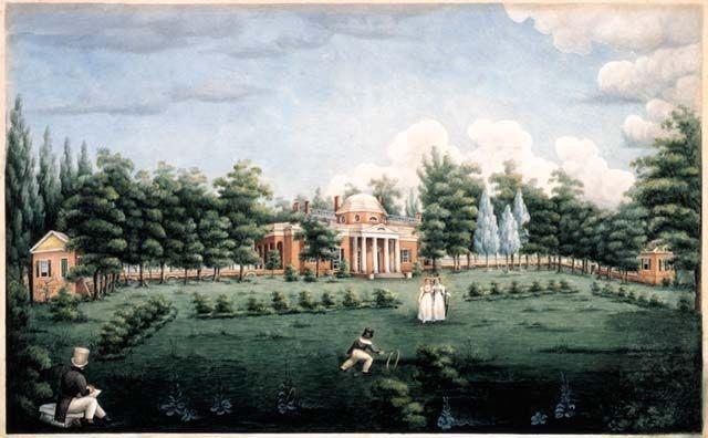 Monticello 1825