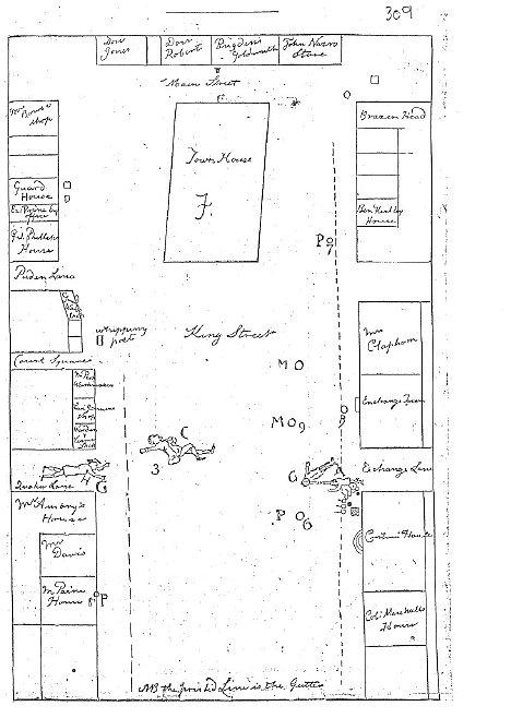 Paul Revere Sketch