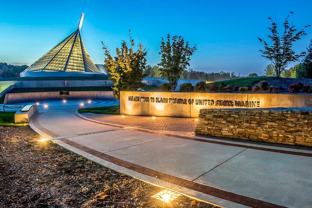 "<img src="" studioINSITE_Semper_Fidelis_Memorial_Park_Lighting ""alt=  ""Museum, Memorial Park, Cultural Landscape, Art and Sculpture, Donor Bricks, Water Feature, Design Competition, Landscape Architecture,  memorial   park, m  arines,  national,  america, s  emper fidelis, l  andscape,  architecture,  design, h  eroes,  civic,  cultural"" title=""SemperFidelisMemorialPark""/>"