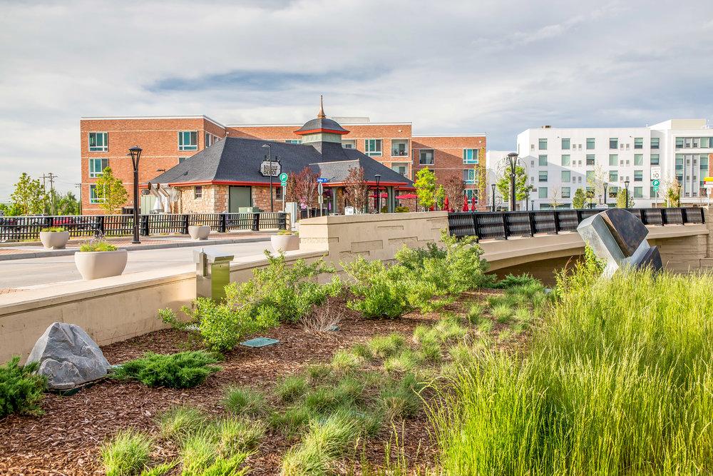"""<img src=""""studioINSITE_Boulder_Junction_Place_Depot""""alt=""""Boulder, Junction Place, Bike Trails, Transite Depot, Bridge, Streetscape, Greenway, Landscape Art, Art, Public Outreach, Landscape Architecture, Urban Designtitle=""""Boulder Junction Place""""/>"""