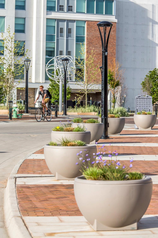 """<img src=""""studioINSITE_Boulder_Junction_Place_Streetscape""""alt=""""Boulder, Junction Place, Bike Trails, Transite Depot, Bridge, Streetscape, Greenway, Landscape Art, Art, Public Outreach, Landscape Architecture, Urban Designtitle=""""Boulder Junction Place""""/>"""
