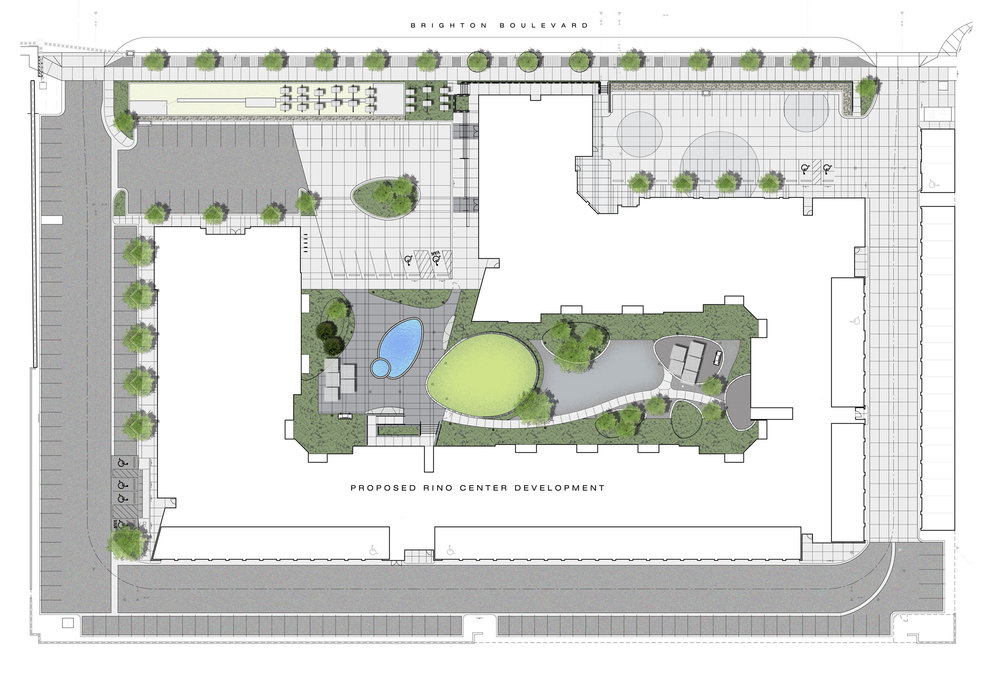 "<img src=""studioINSITE_Block_32_Site Illustrative Plan"" alt=""Urban Living, Multifamily Courtyard, Amenity Deck, Fire Pit, Grill Area, Shade Structure, Zen Garden, Infinity Pool, Landscape Architecture, Denver, CO, Colorado Courtyards, Amenity Spaces, Great Courtyard Designs, RiNO Neighrborhood"" title=""Block 32 at RiNO""/>"