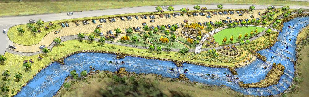"<img src="" studioINSITE_Eagle_River_Park_Perspective_Rendering ""alt=""Master Plan, River Corridor, Pedestrian Bridge, Whitewater park, Trail System, Conservation, Mountain Community, Eagle Colorado, Town of Eagle, Eagle River Park, I-70 Corridor,  "" title=""Eagle River Corridor Master Plan  ""/>"