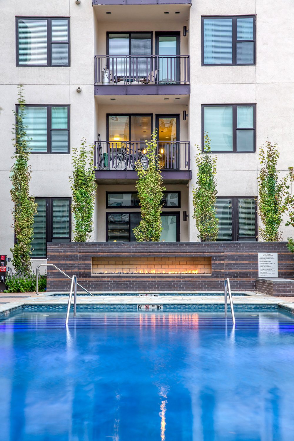 "<img src="" studioINSITE_The_Douglass_Pool_Deck "" alt=""Urban Living, Multifamily Courtyard, Amenity Deck, Fire Pit, Grill Area, Shade Structure, Fireplace, Landscape Architecture, Luxury Living, the Douglas, Denver, CO, Colorado Courtyards, Amenity Spaces, Great Courtyard Designs  "" title=""The Douglas  ""/>"