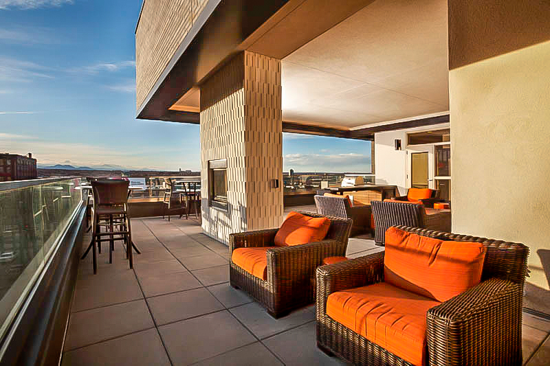 "<img src="" studioINSITE_The_Douglas_SW_Roof_Deck "" alt=""Urban Living, Multifamily Courtyard, Amenity Deck, Fire Pit, Grill Area, Shade Structure, Fireplace, Landscape Architecture, Luxury Living, the Douglas, Denver, CO, Colorado Courtyards, Amenity Spaces, Great Courtyard Designs  "" title=""The Douglas  ""/>"