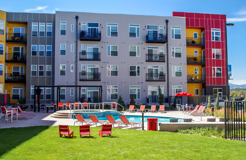"<img src="" studioINSITE_Block_32_RiNo_Building"" alt=""Urban Living, Multifamily Courtyard, Amenity Deck, Fire Pit, Grill Area, Shade Structure, Zen Garden, Infinity Pool,  Landscape Architecture, Denver, CO, Colorado Courtyards, Amenity Spaces, Great Courtyard Designs, RiNO Neighrborhood"" title=""Block 32 at RiNO""/>"