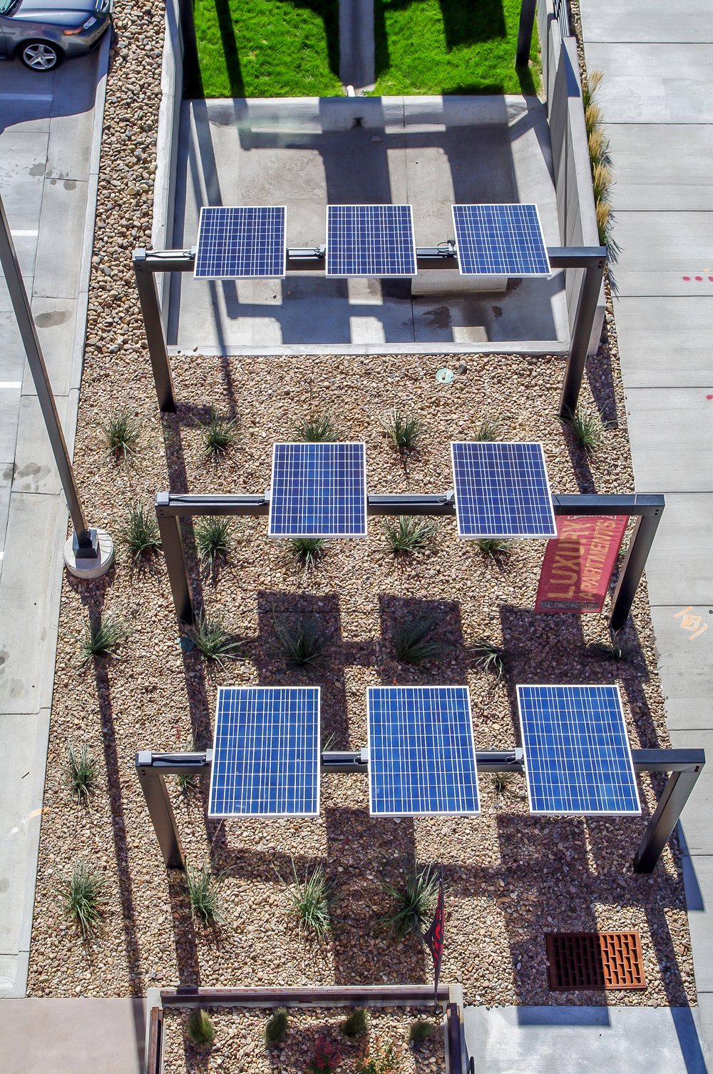 "<img src="" studioINSITE_Block_32_RiNo_Solar_Panels "" alt=""Urban Living, Multifamily Courtyard, Amenity Deck, Fire Pit, Grill Area, Shade Structure, Zen Garden, Infinity Pool,   Landscape Architecture, Denver, CO, Colorado Courtyards, Amenity Spaces, Great Courtyard Designs, RiNO Neighrborhood"" title=""Block 32 at RiNO""/>"