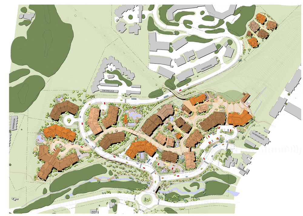 "<img src=""studioINSITE_Snowmass_Base_Village_Site_Plan""alt=""Mountain village, ski village, hotel, resort, mixed use, public plaza, water feature, pool, landscape architecture, master planning"" title=""Westin Monache""/>"