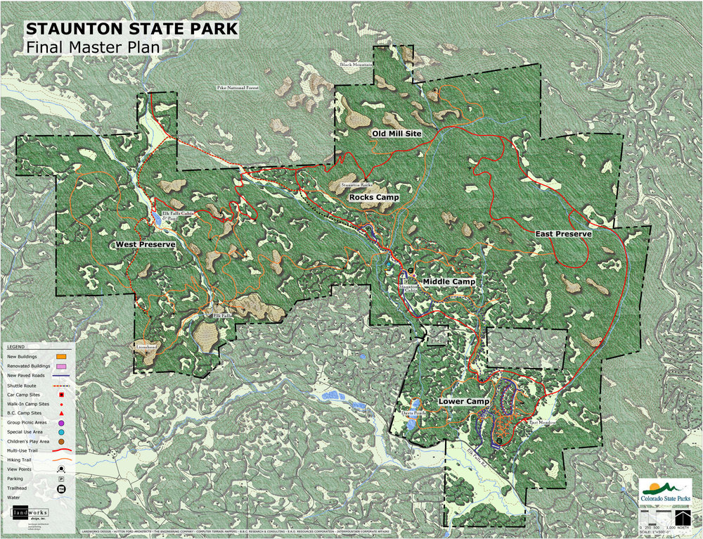"<img src="" studioINSITE_Staunton_Master_Plan ""alt=""  Parks master plan, trails, trail siting, multi-use trails, picnic area, campground, visitors center, educational classroom, master plan, landscape architecture  "" title=""Westin Monache""/>"
