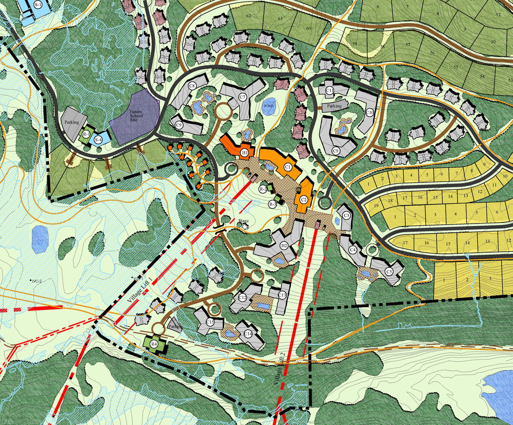 "<img src=""  studioINSITE_Village_At_Wolf_Creek_Master_Plan  ""alt=""  Mountain resort, hotel, gondola, landscape architecture, Village, Master Plan, 3D Massing    "" title=""Village at Wolf Creek""/>"
